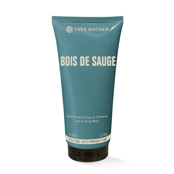 Gel za telo in lase Bois de sauge 200ml